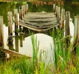 Free Photo - The Fallen Bridge
