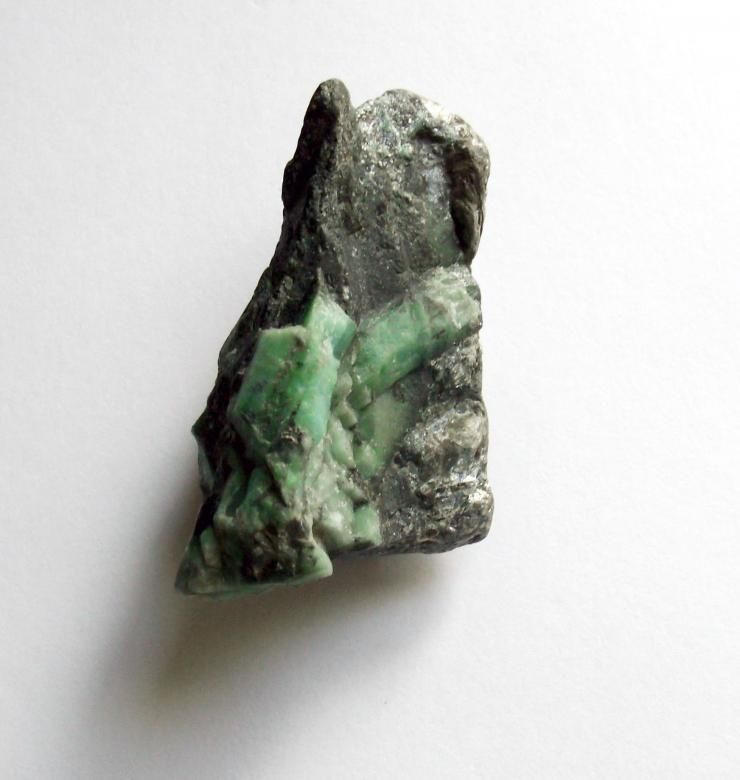 Free Stock Photo of Raw uncut emerald gemstone Created by David M