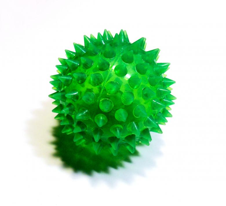 Free Stock Photo of Green spiky ball Created by David M