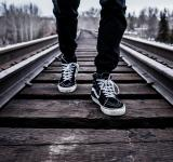 Free Photo - Walking On The Rail
