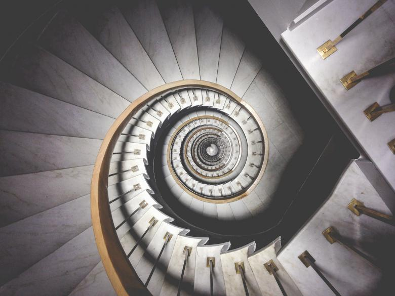 Free stock image of Round Stairs created by StockSnap