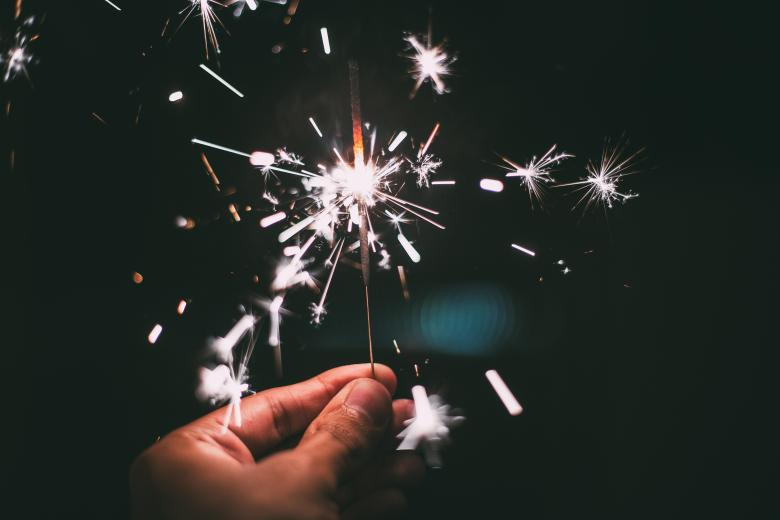 Free Stock Photo of Sparkler Created by StockSnap