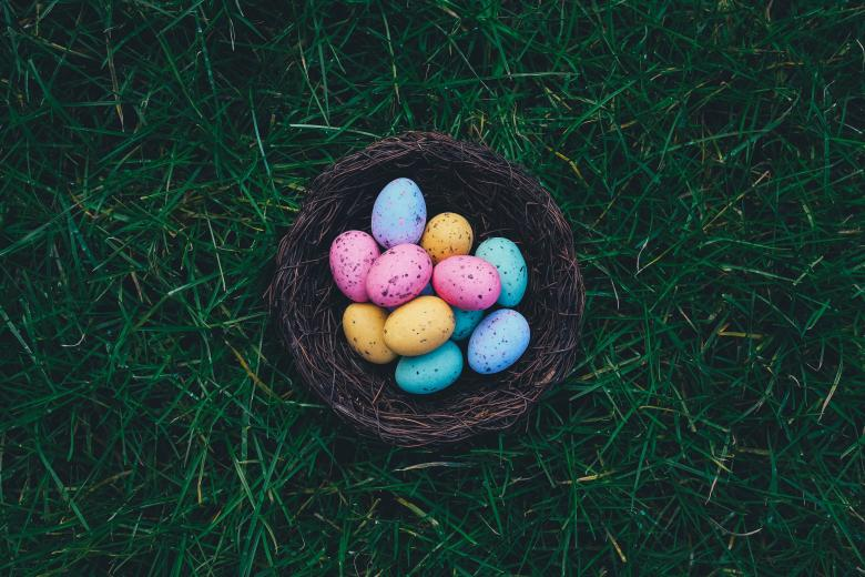 Free Stock Photo of Basket Full Of Eggs Created by StockSnap