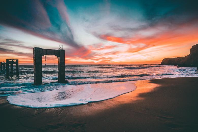 Free Stock Photo of Sea Shore