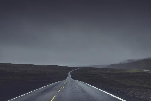 Lonely Road - Free Stock Photo
