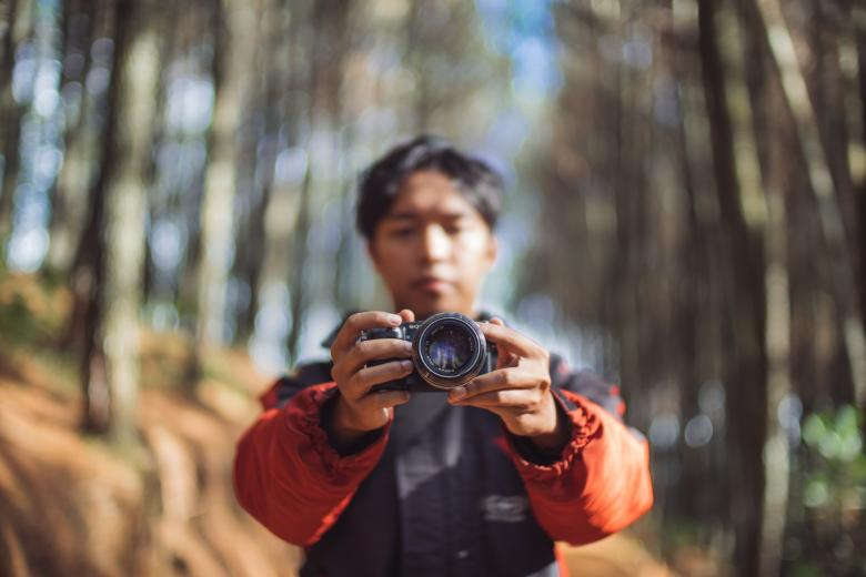 Free Stock Photo of Photographer Created by Unsplash