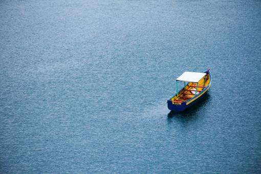 Boat Alone - Free Stock Photo