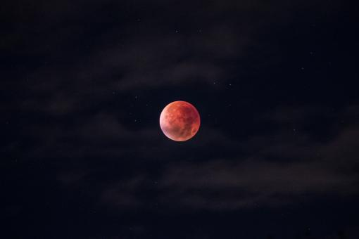 Red Moon - Free Stock Photo
