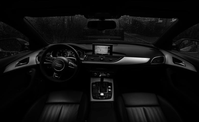 Free Stock Photo of Black Car Interior Created by StockSnap