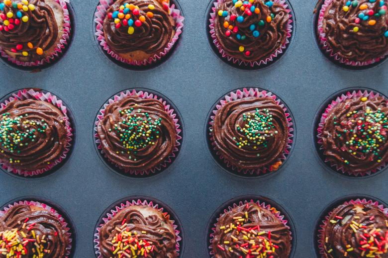 Free Stock Photo of Cupcakes Created by StockSnap
