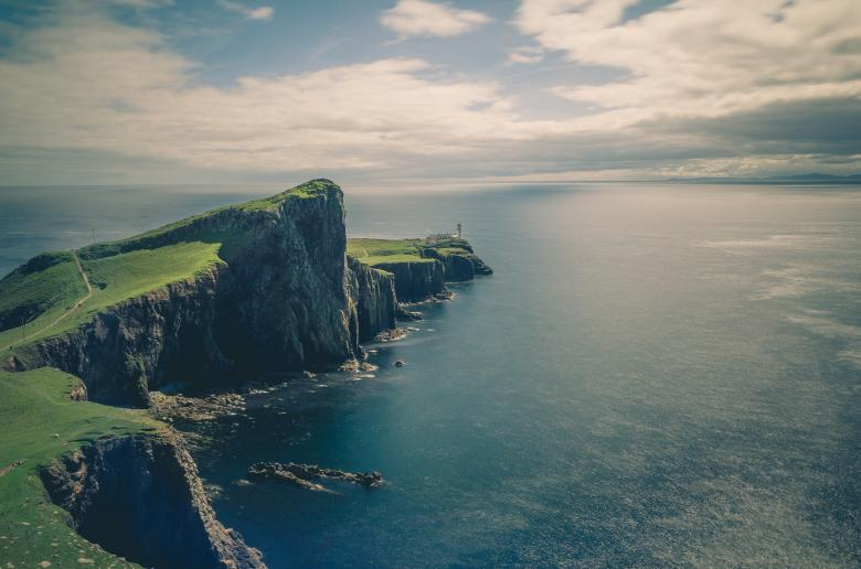 Free Stock Photo of Natural Cliff