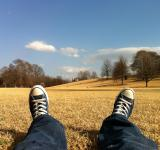 Free Photo - Lying on the Field