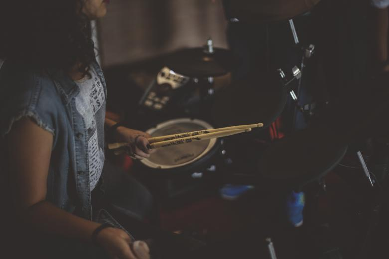 Free stock image of Drummer created by Unsplash