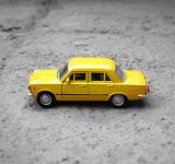 Free Photo - Yellow Toy Car