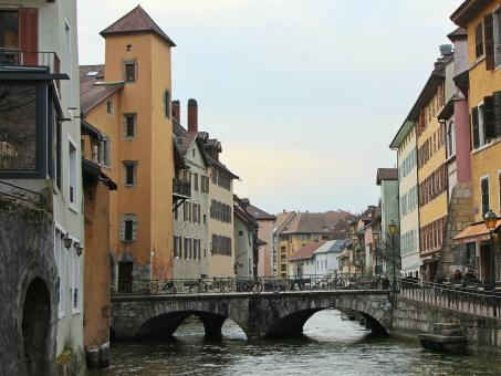 Annecy in France - Free Stock Photo