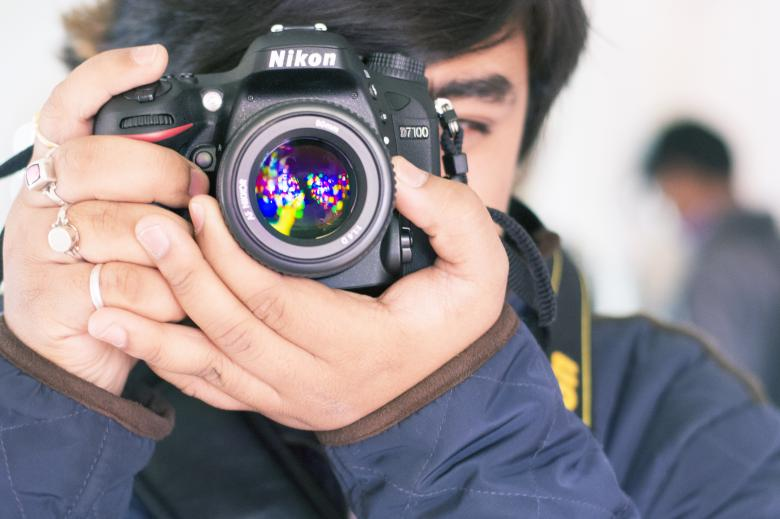 Free Stock Photo of Photographer Created by Pixabay