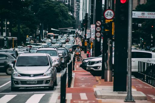 Busy Traffic - Free Stock Photo