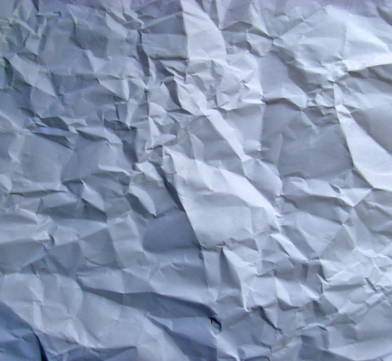 Free Stock Photo of Wrinkled paper texture Created by David M