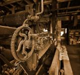 Free Photo - Waterside Woolen Mill - Sepia HDR