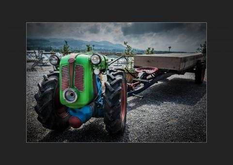 Tractor - Free Stock Photo