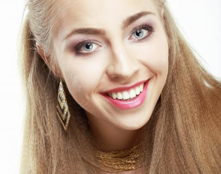 Blond model | face | emotions - Free Stock Photo