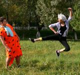 Free Photo - Flying Kick