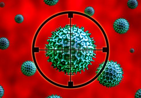 Microbes on the Crosshairs - Fighting Infection - Free Stock Photo