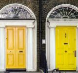 Free Photo - Yellow Doors