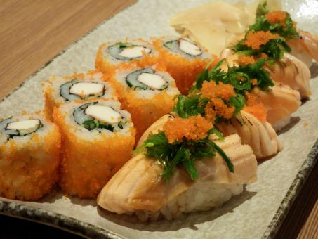 Salmon Sushi - Free Stock Photo