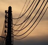 Free Photo - Electricity Lines Silhouette