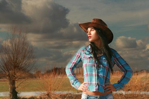 Cowgirl - Free Stock Photo