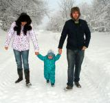 Free Photo - Family in Winter