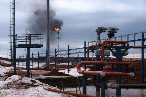 Gas flaring - Free Stock Photo