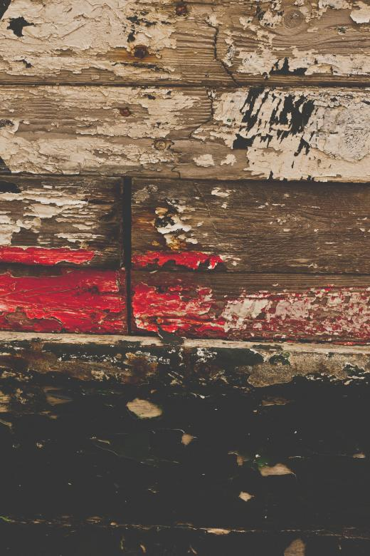 Free Stock Photo of Old Painted Wood Texture Created by Free Texture Friday