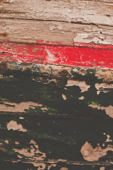 Old Painted Wood Texture - Free Stock Photo