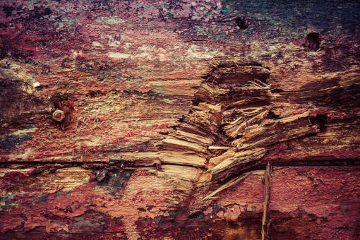 Colorful Grunge Wood Texture - Free Stock Photo