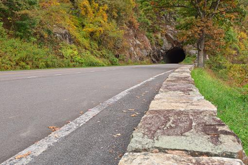 Skyline Tunnel Drive - HDR - Free Stock Photo