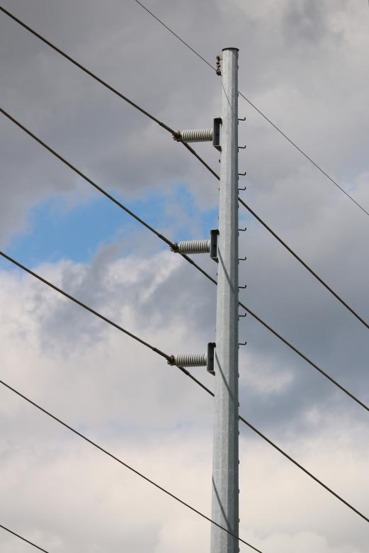 Free Stock Photo of Metal Power Pole Created by Vincent alvino
