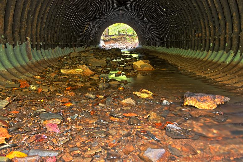 Free Stock Photo of Catoctin Tube Tunnel - HDR Created by Nicolas Raymond