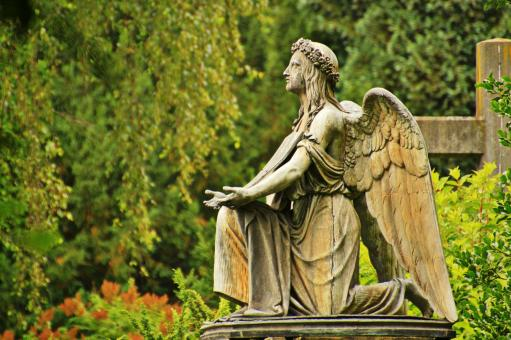 Angel Sculpture - Free Stock Photo