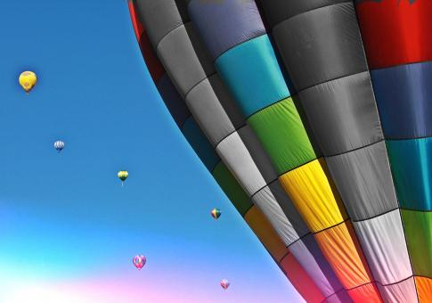 Hot Air Balloon - Free Stock Photo