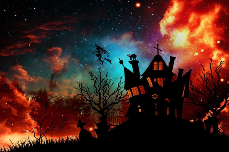Free Stock Photo of Witch House