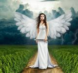 Free Photo - Angel Girl Portrait