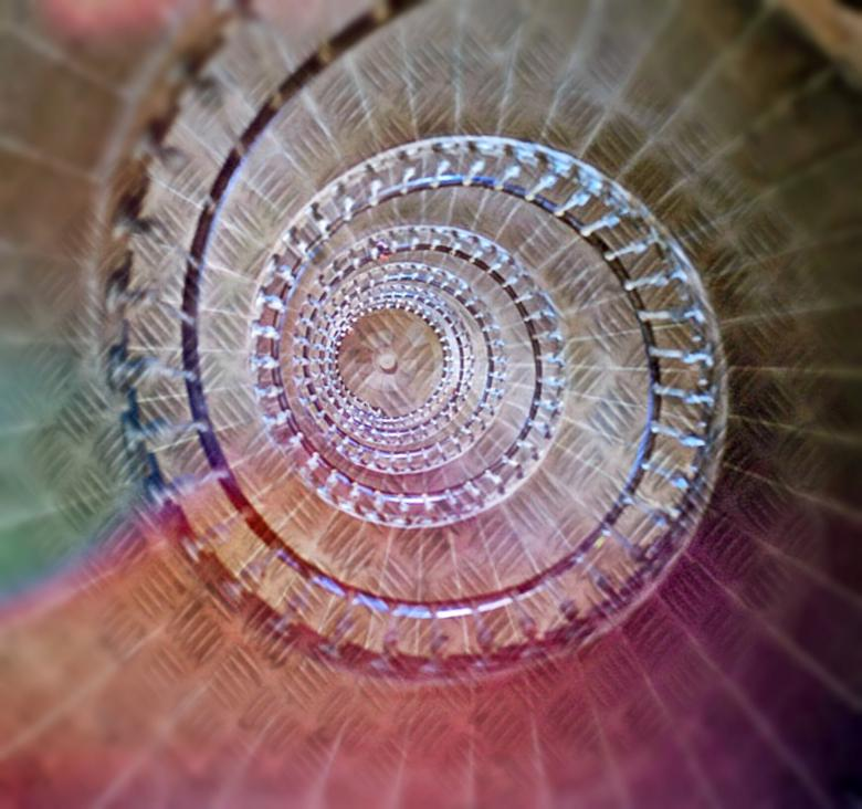 Free stock image of Spiral Staircase created by Pixabay