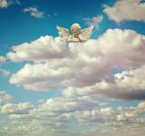 Free Photo - Angel in the Clouds