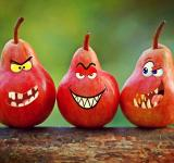 Free Photo - Angry Red Pears