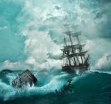 Free Photo - Ship in the Storm