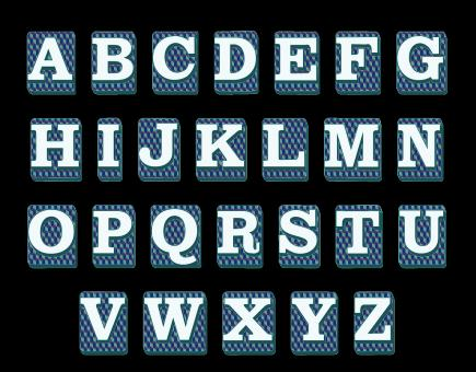 Alphabet Keys - Free Stock Photo