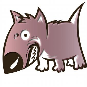 Pink Dog - Free Stock Photo