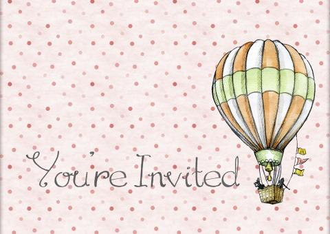 Invitation Card - Free Stock Photo